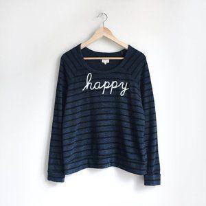 Sundry Happy Sweatshirt - size 2